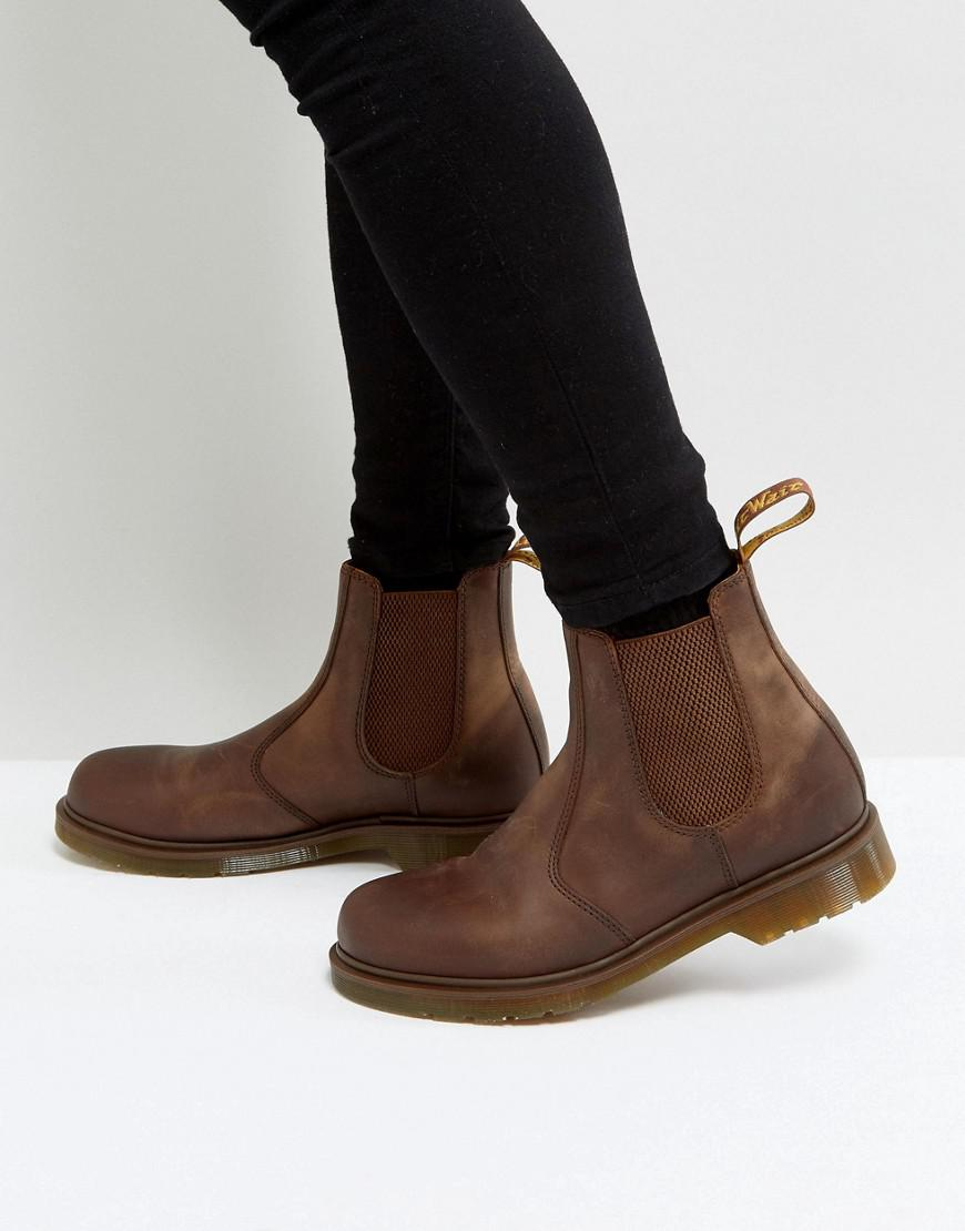 e5a5191c3df Dr. Martens 2976 Chelsea Boots In Brown in Brown for Men - Lyst