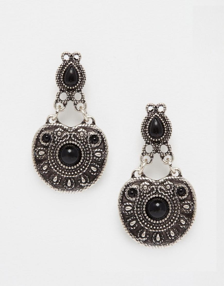 Asos Western Earrings in Black