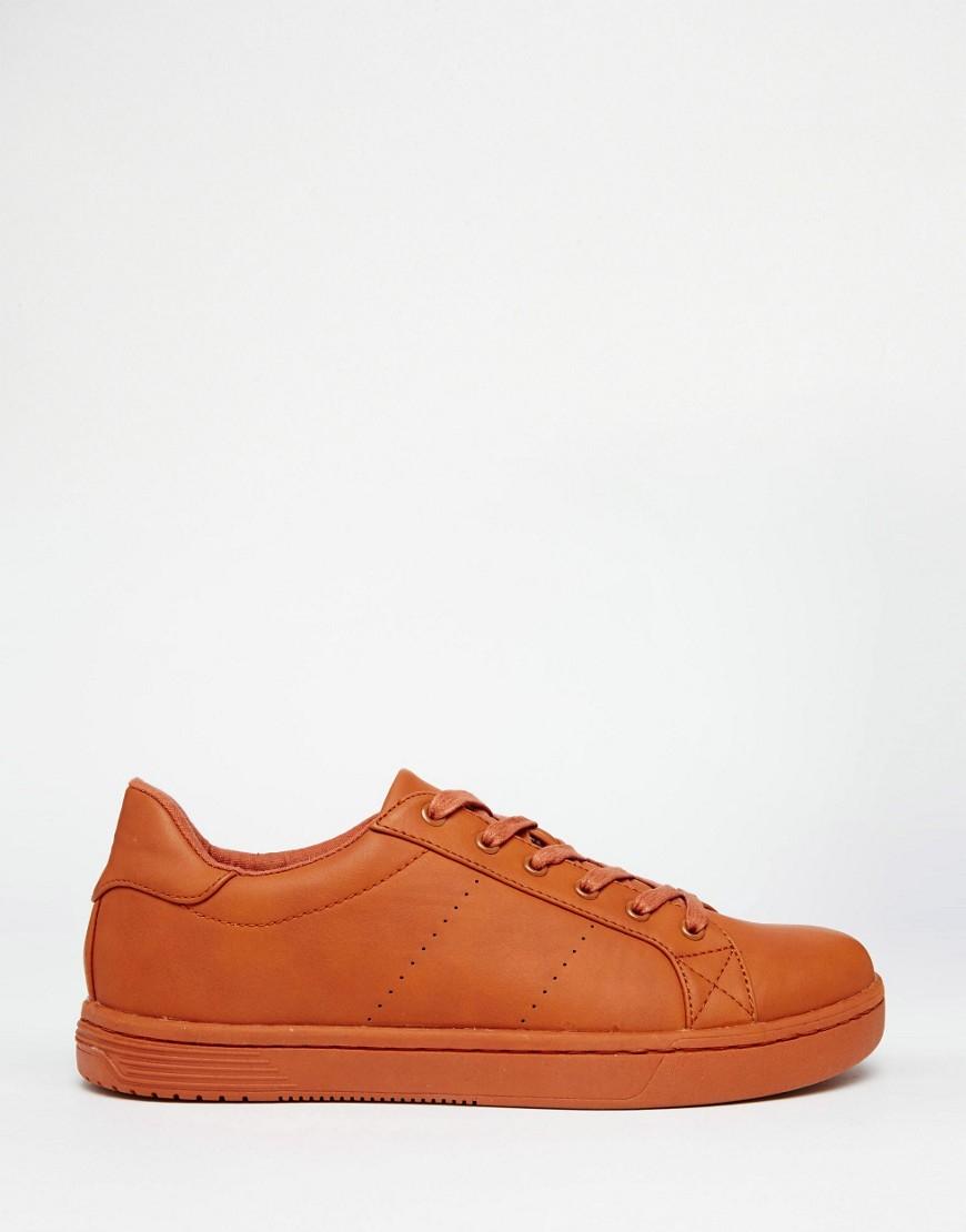 Block Of Orange Shoe Stores
