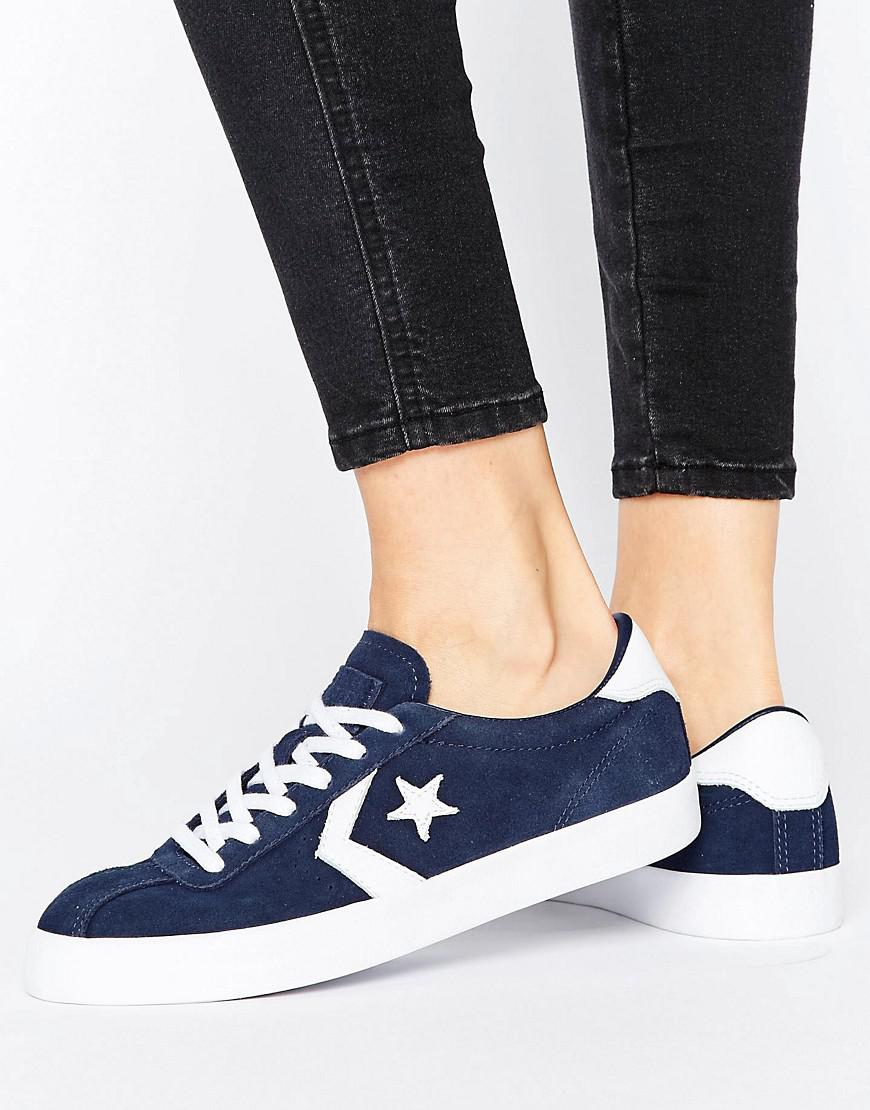 Converse Breakpoint Suede Trainers In Navy in Blue - Lyst