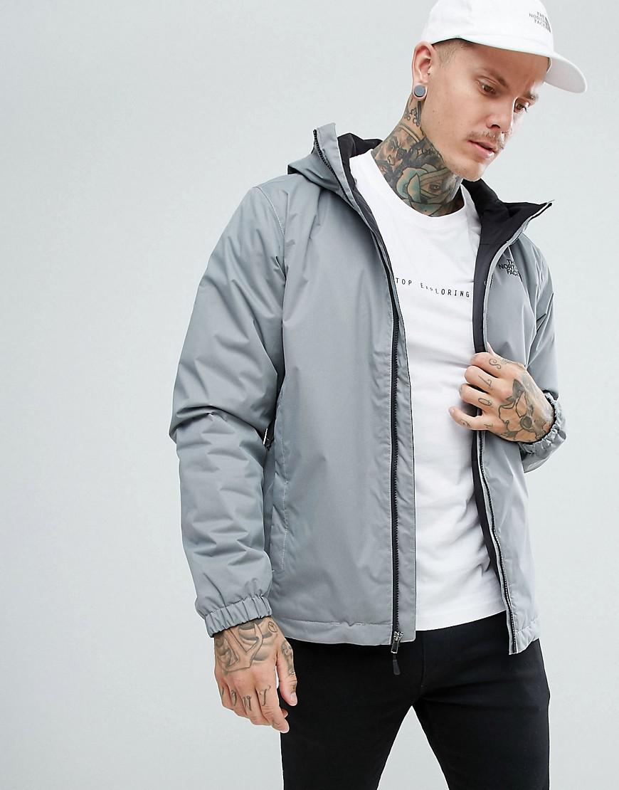 7ce55b9746 The North Face Quest Insulated Waterproof Jacket In Grey in Gray for ...