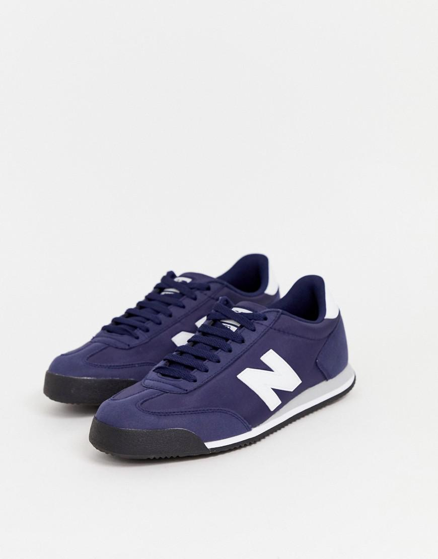 Leather 370 Trainers in Blue for Men - Lyst