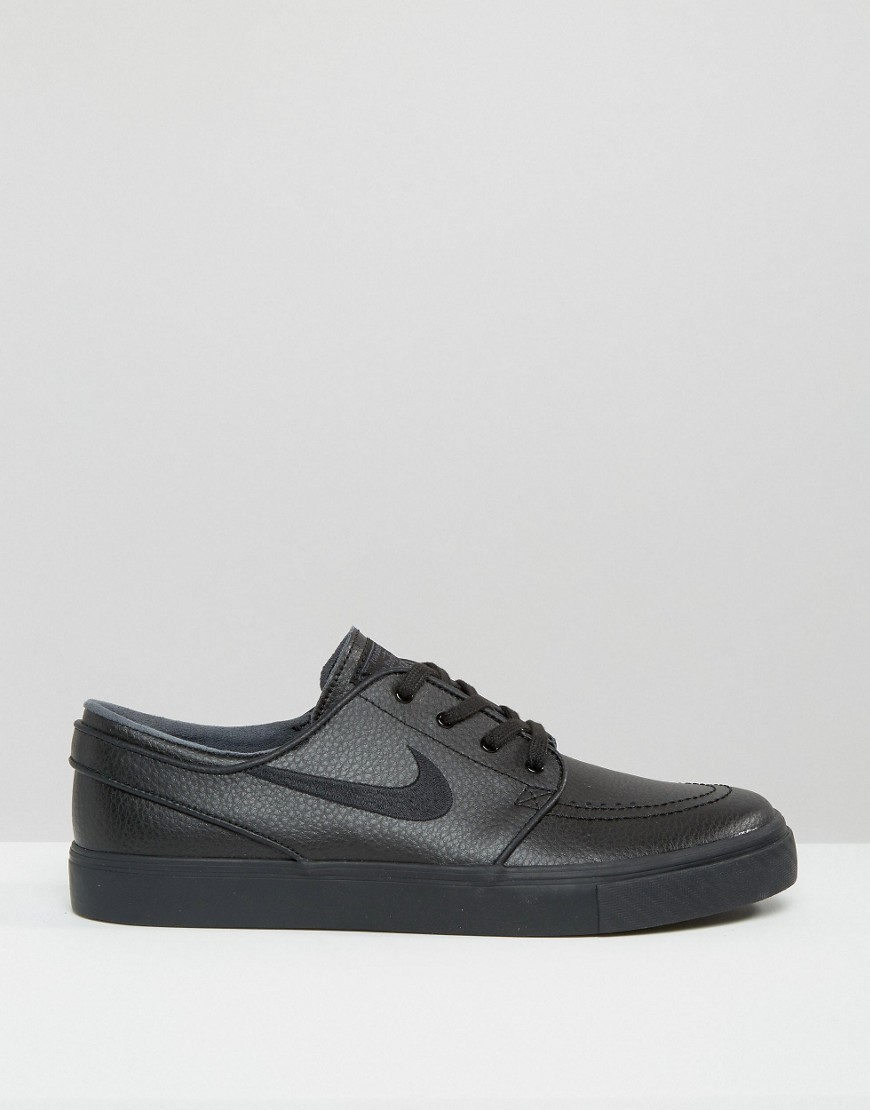 Nike Leather Meadow '16 Prem Trainers In Black 833463-100 for Men