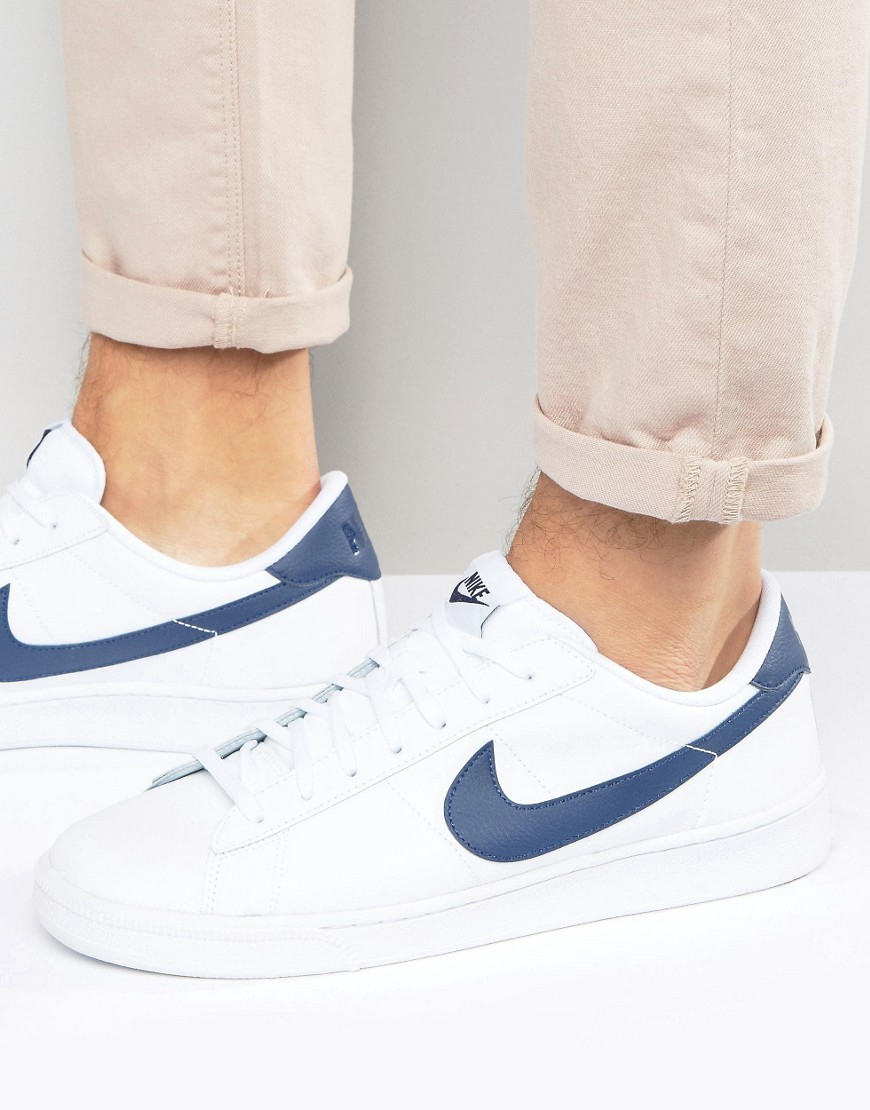 newest collection 03068 9d8ef Nike Tennis Classic Cs Trainers In White 683613-107 in White for Men ...