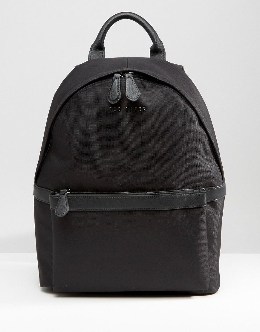 ted baker backpack in black for men lyst. Black Bedroom Furniture Sets. Home Design Ideas