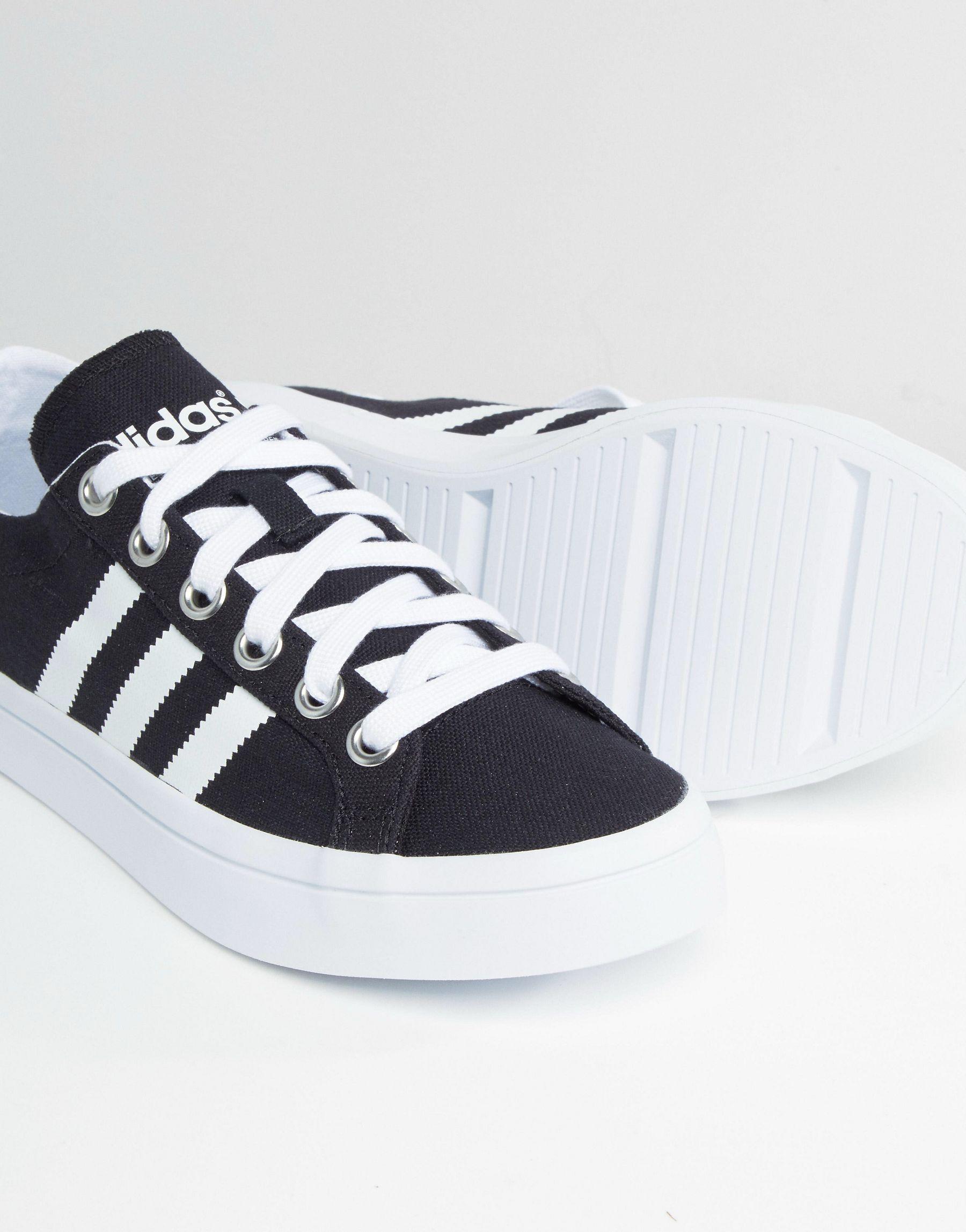 adidas court vantage black and white d671e9