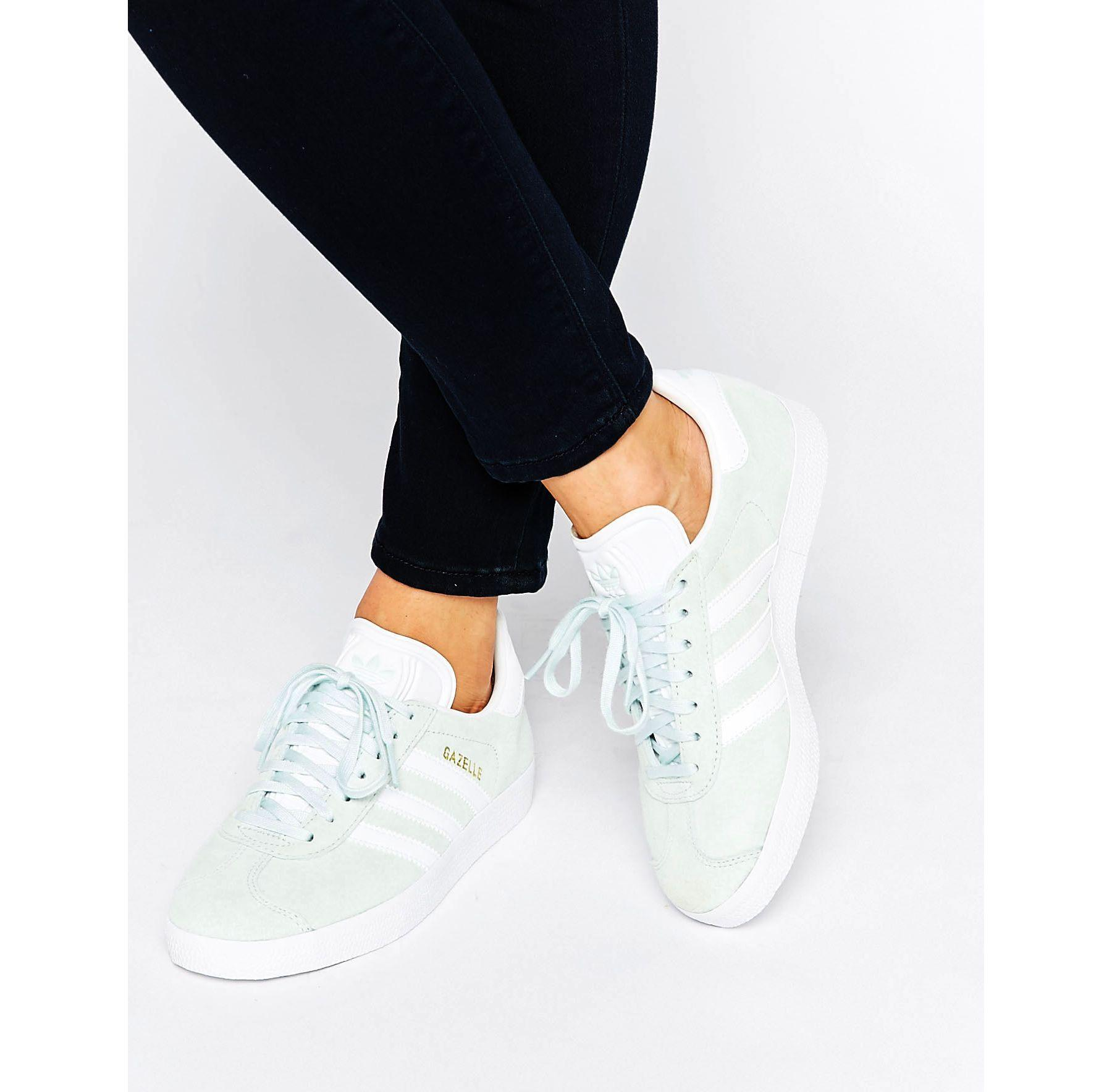Adidas Gazelle Originals White Flower Shoes Sale Australia
