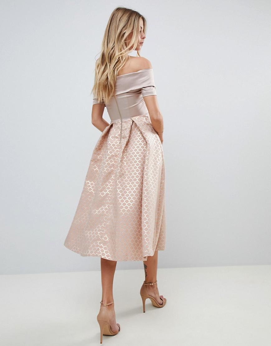 Bardot Skater Dress