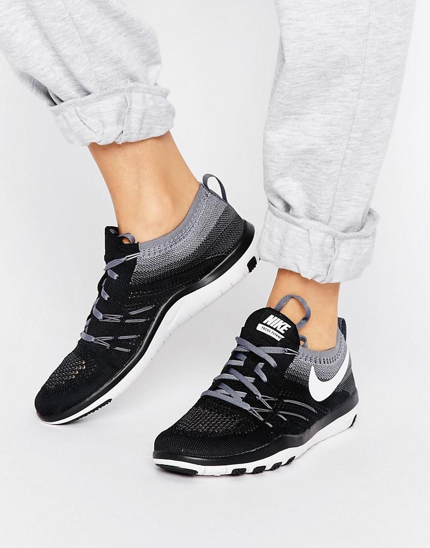 Tr Flyknit Lyst grijs training Nike Focus gratis in sneakers BxP4URq