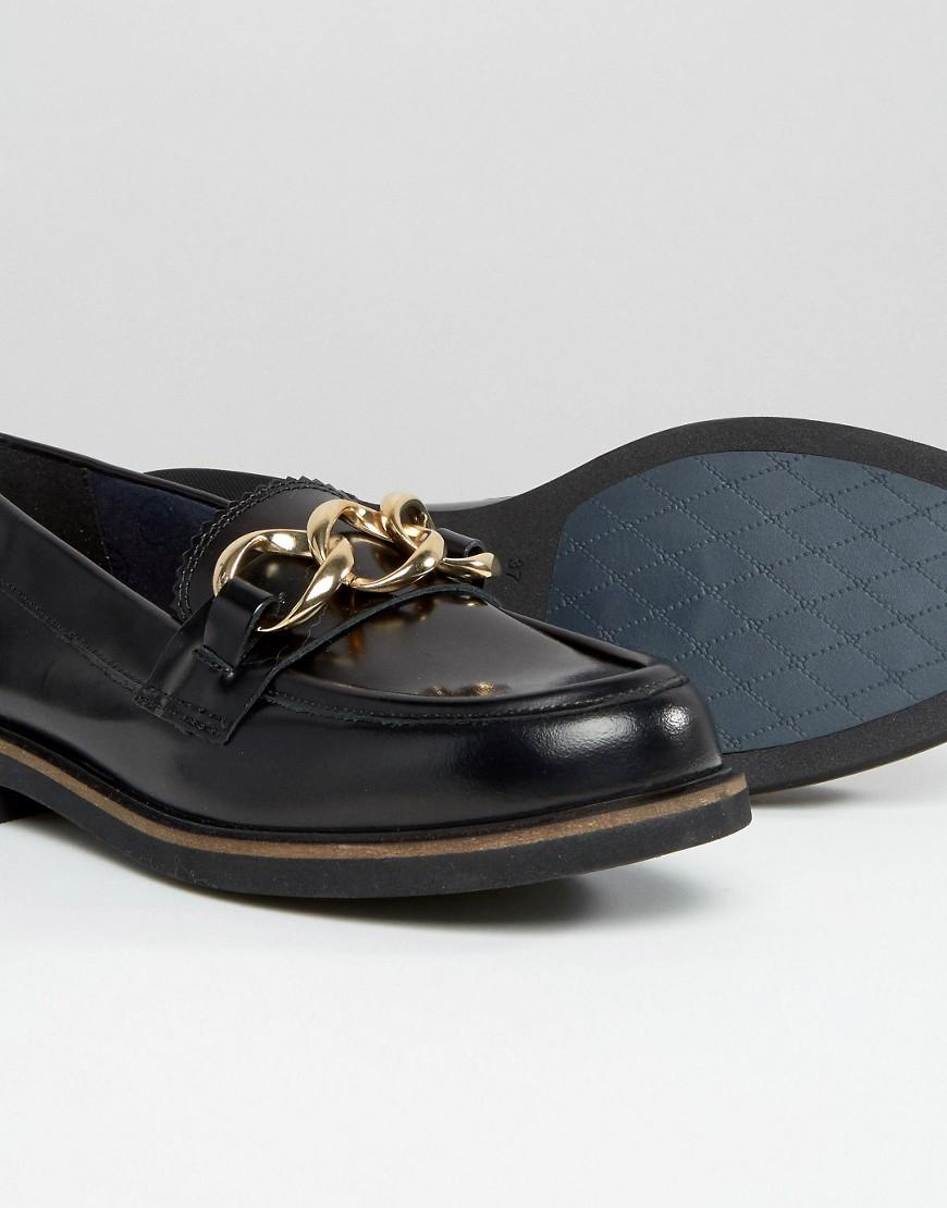 972b7a797 Lyst - Tommy Hilfiger Daisy Chain Loafers in Black