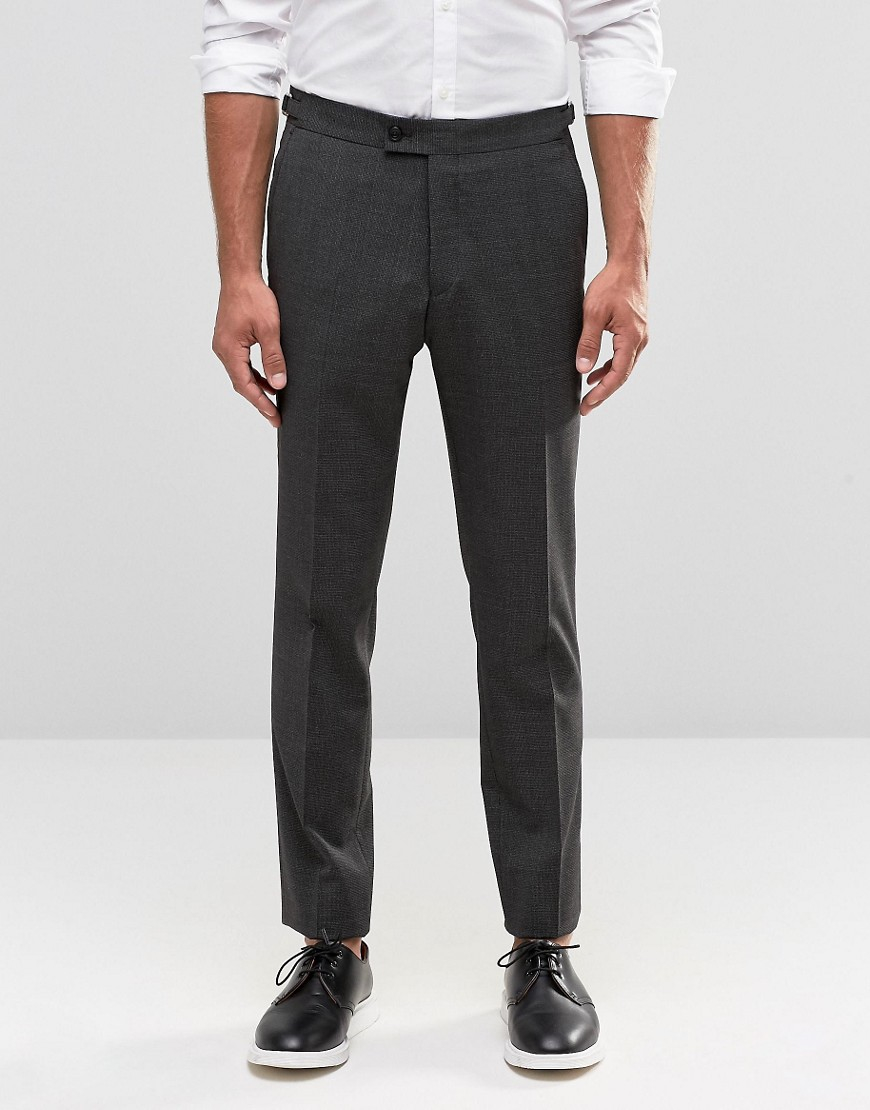 Lyst - Hart hollywood By Nick Hart Skinny Trousers In Salt ...