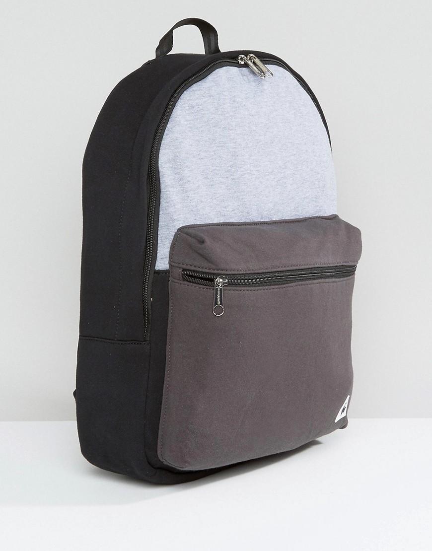 Le Coq Sportif Cotton Pop Sportif Backpack in Grey (Grey)