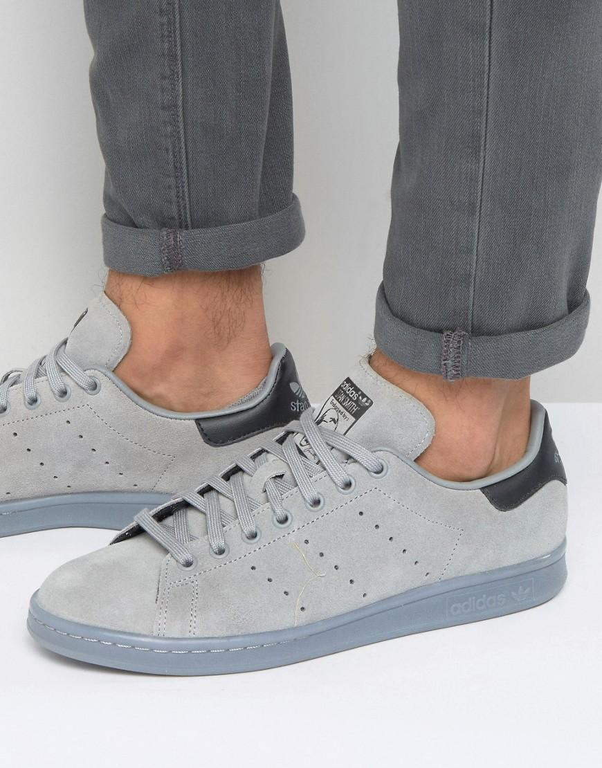Stan Smith Trainers In Grey S80031 - Grey