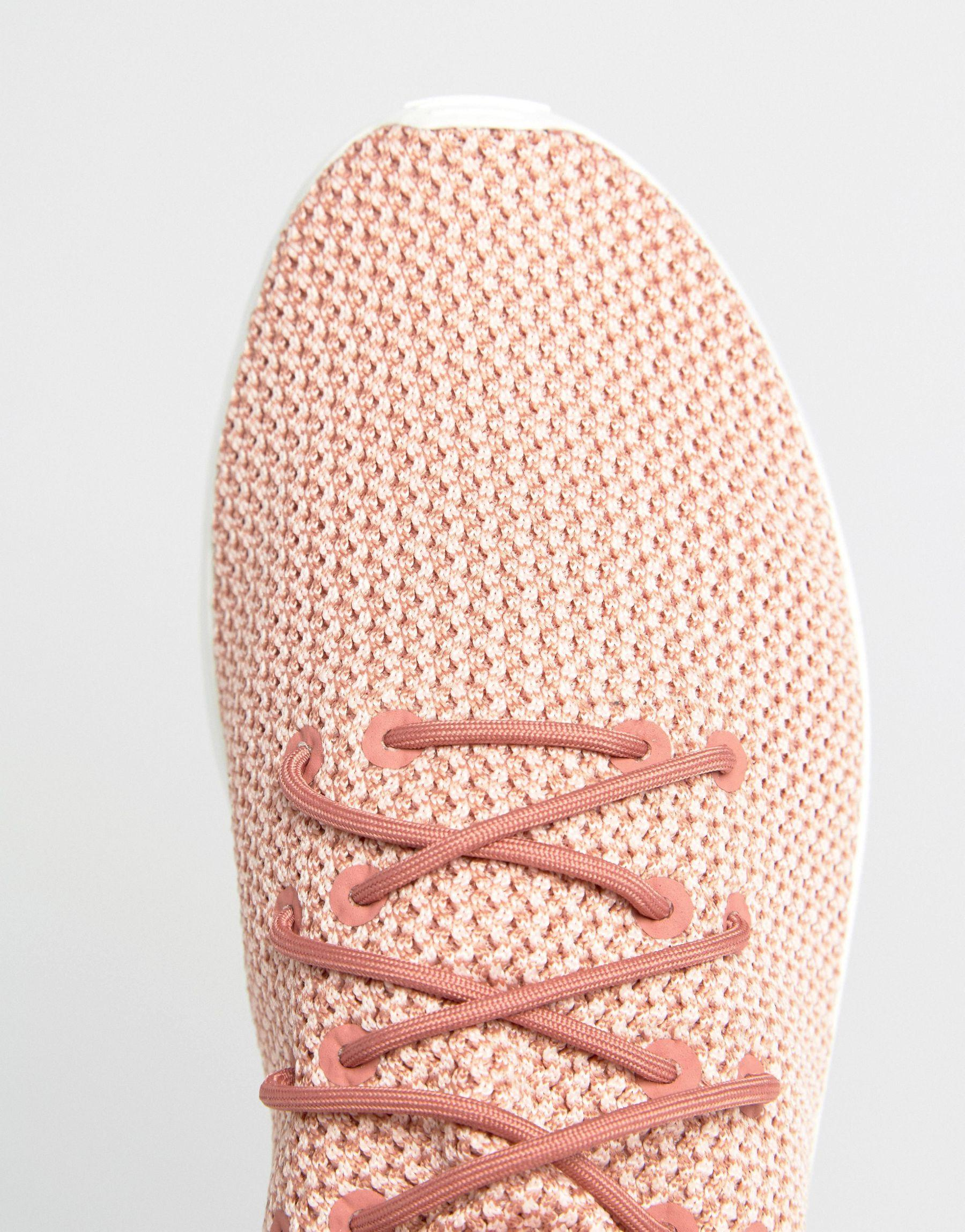 new products 264aa 9b71a adidas Originals Originals Dusky Pink Zx Flux Adv Sneakers in Pink - Lyst