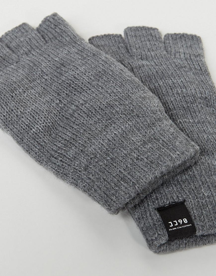 Lyst - Jack & Jones Dna Fingerless Gloves in Gray for Men