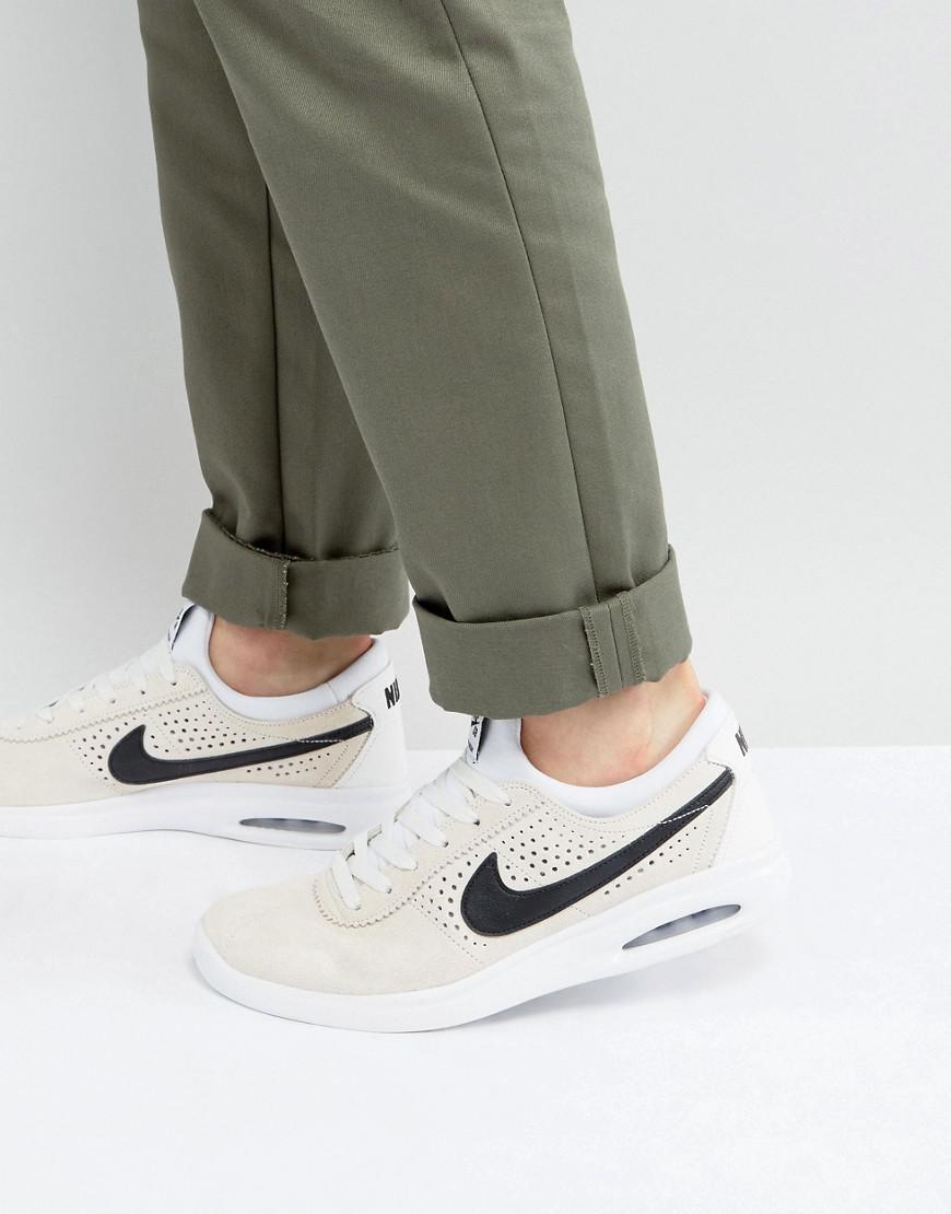 519c769ffa77 Nike Bruin Max Vapor Trainers In White 882097-101 in White for Men ...