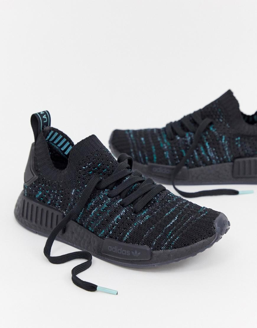 sports shoes 0f833 c98f4 Adidas Originals Nmd R1 Parley Trainers In Blue Print
