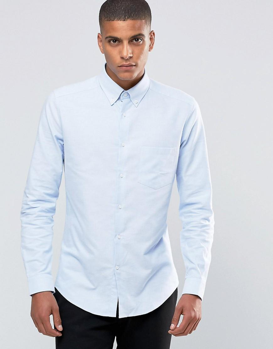 Men S Rugby Shirt With Oxford Cloth Collar