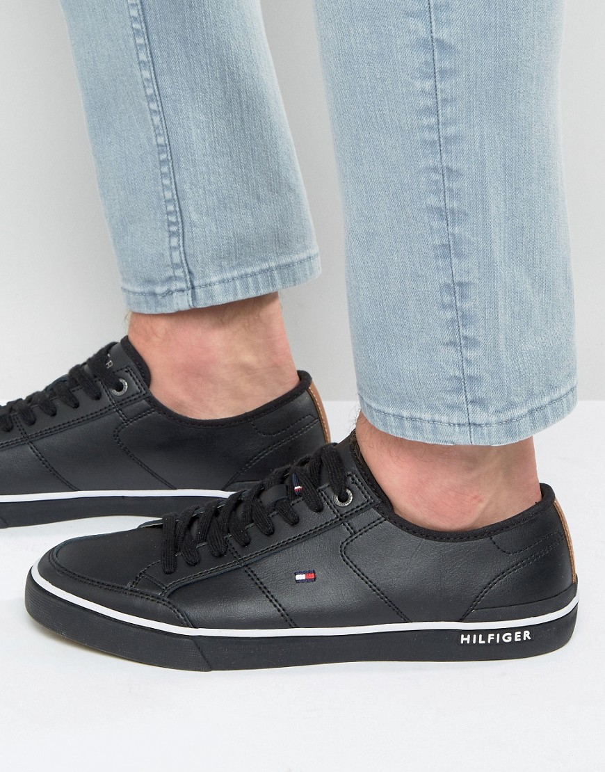 ca3f9671116d Lyst - Tommy Hilfiger Harrington Trainers in Black for Men
