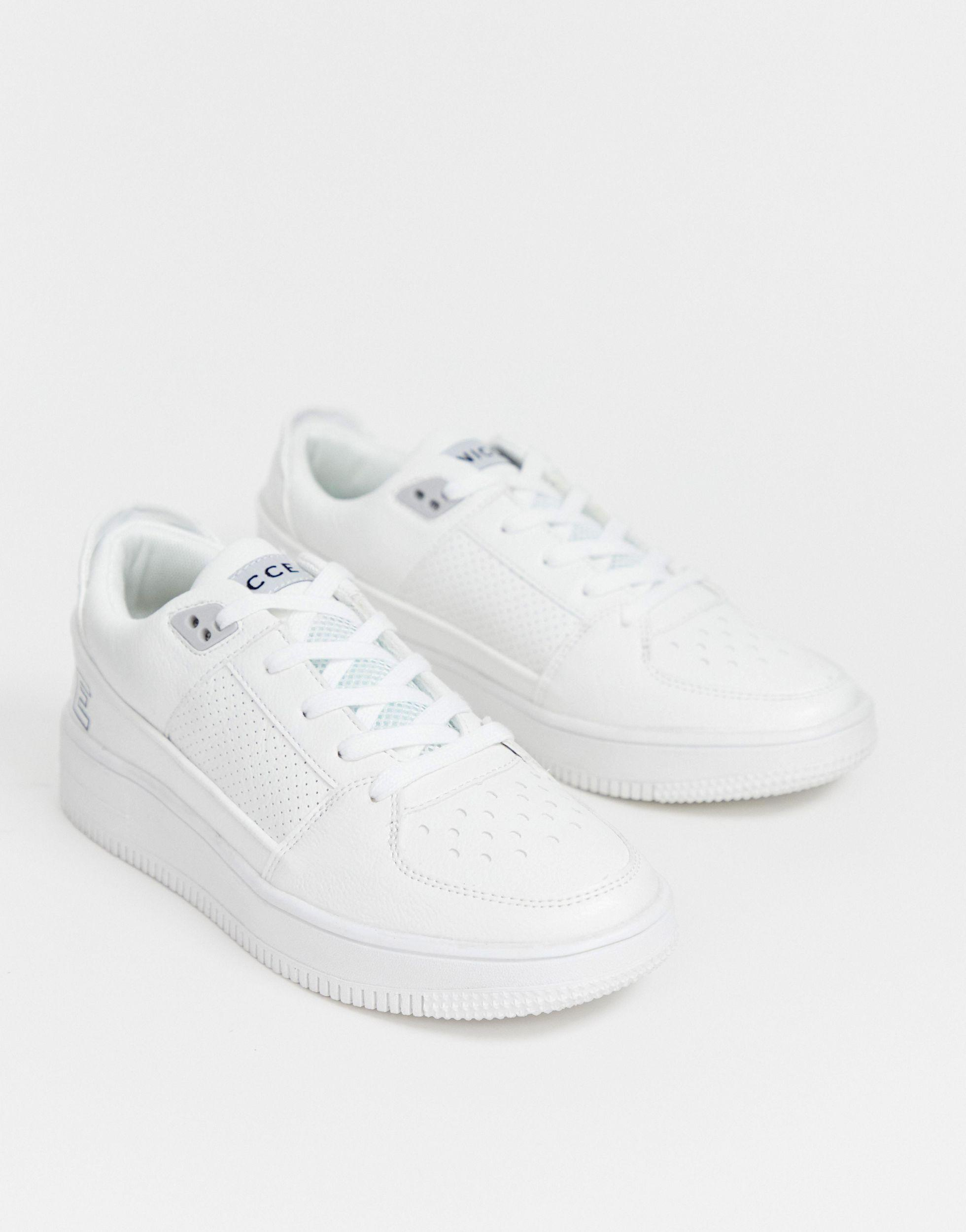 Nicce London Leather Kendrick Trainer