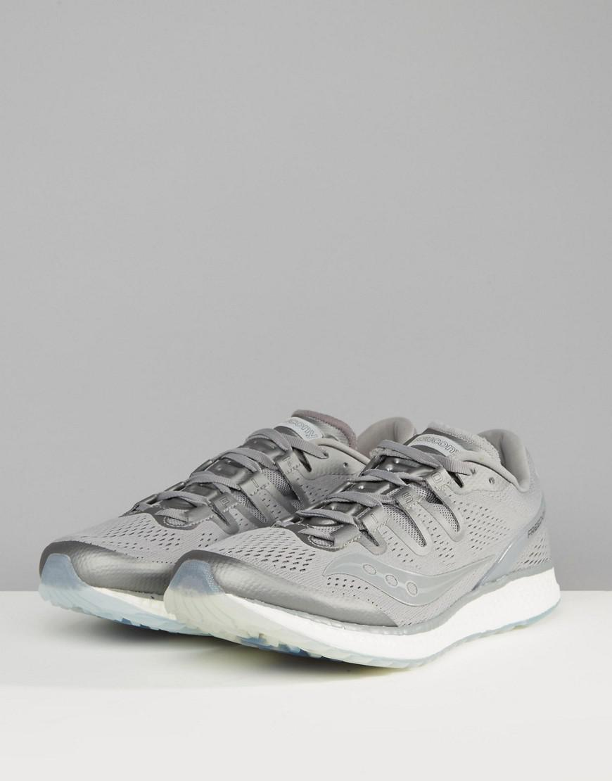 Saucony Running Runlife Freedom Iso Trainers In Grey S20355-51 in Grey for Men