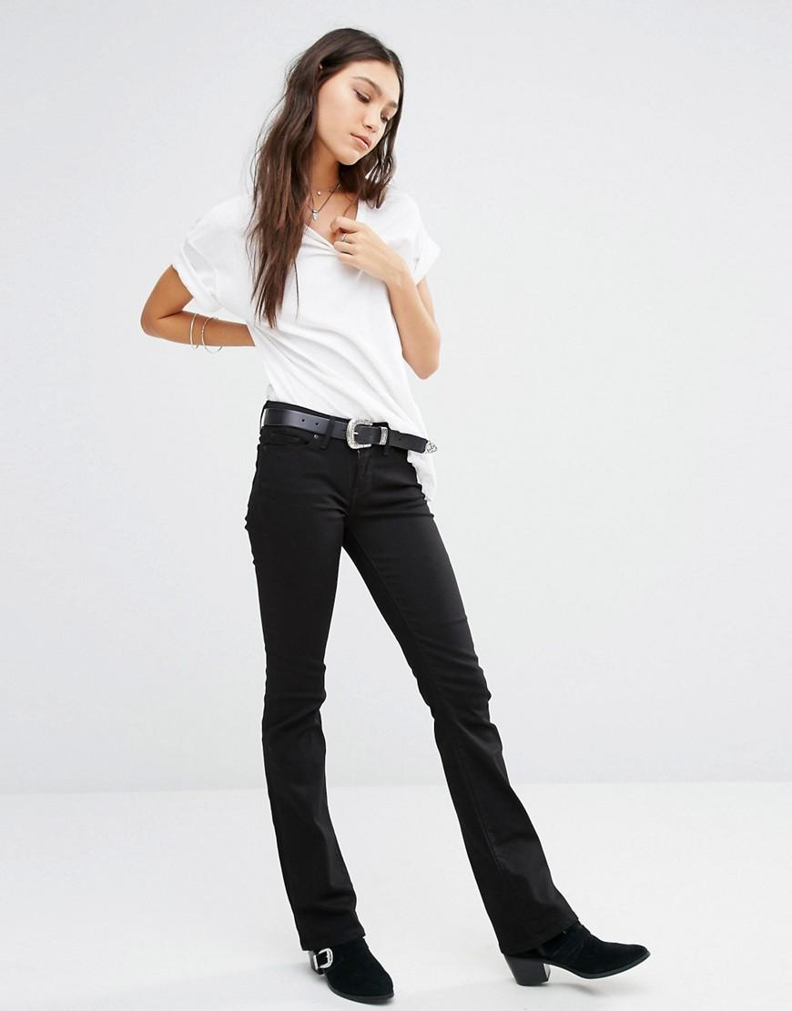 Levi's Denim Levi's 715 Bootcut Mid Rise Jeans in Black