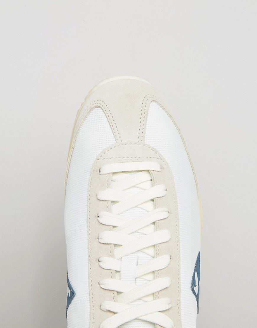 660fd1c9bef Le Coq Sportif Quartz Vintage Trainers In White 1611758 in White for ...