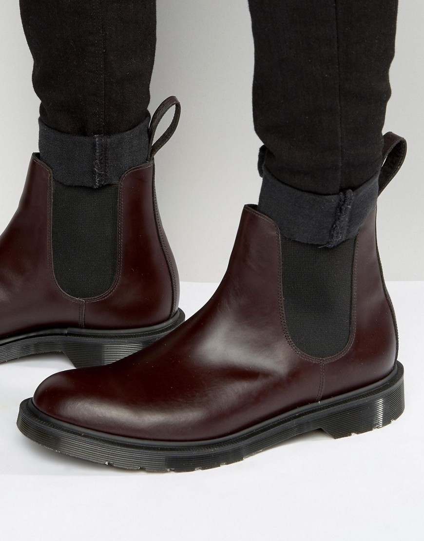 Dr Martens Leather Made In England Graeme Chelsea Boots