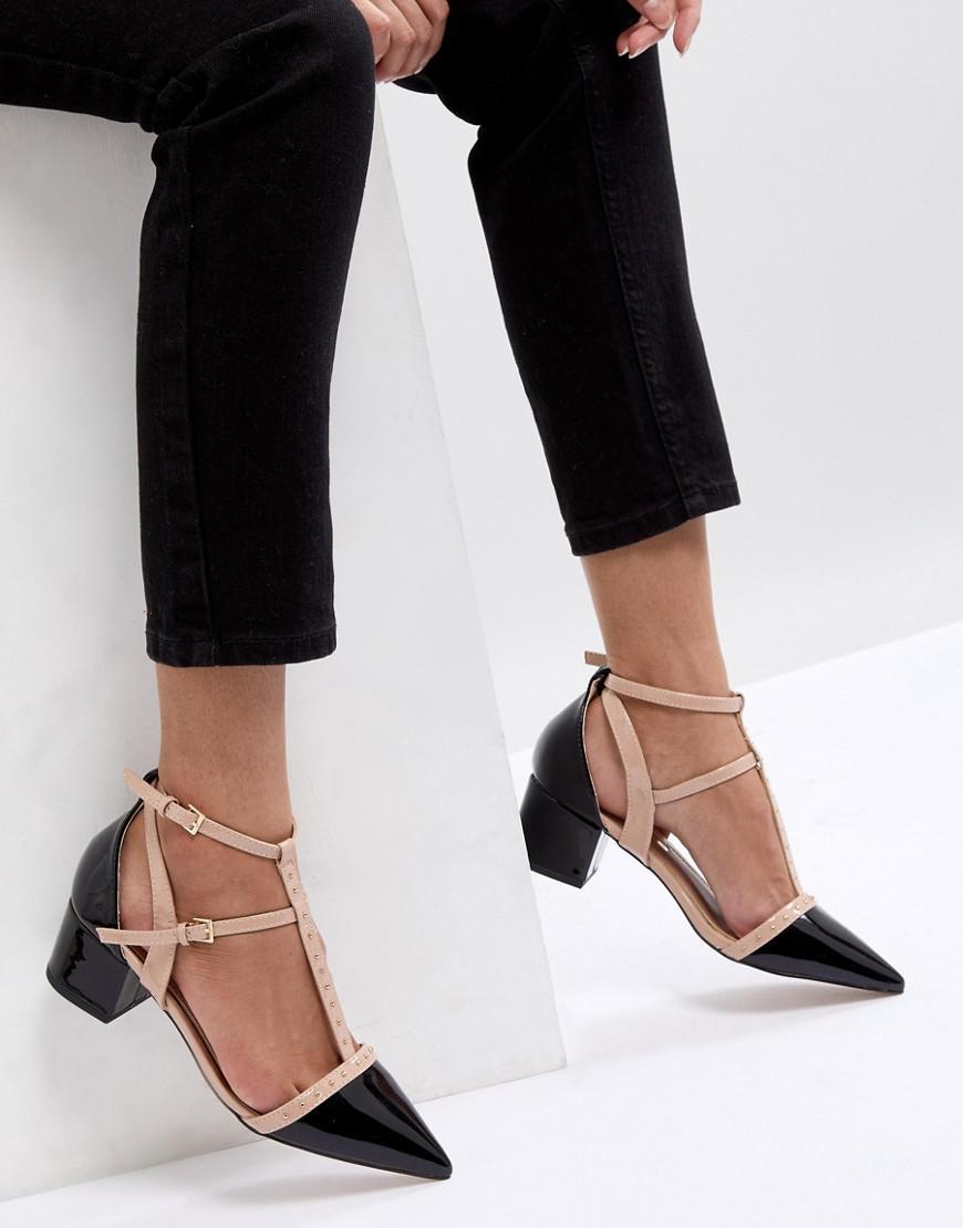 6fe3b64953b Miss Kg Black Averie Heeled Shoes