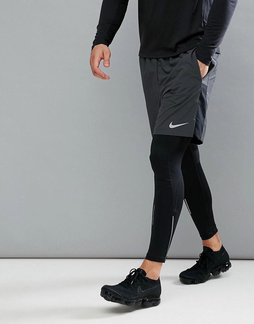 Challenger Flex 7 Pouces Short En Noir 856838-011 - Noir Nike lWaosZFnde