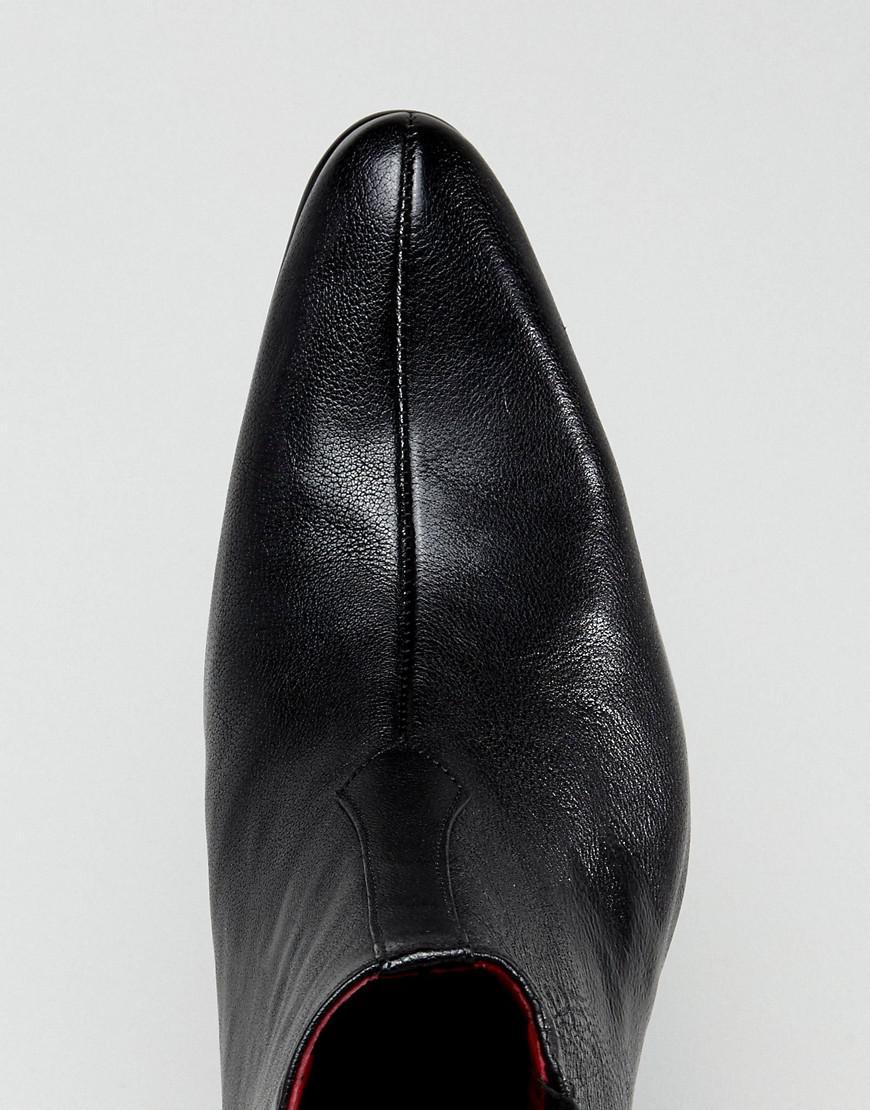 Jeffery West Murphy Chelsea Boots In Black Leather