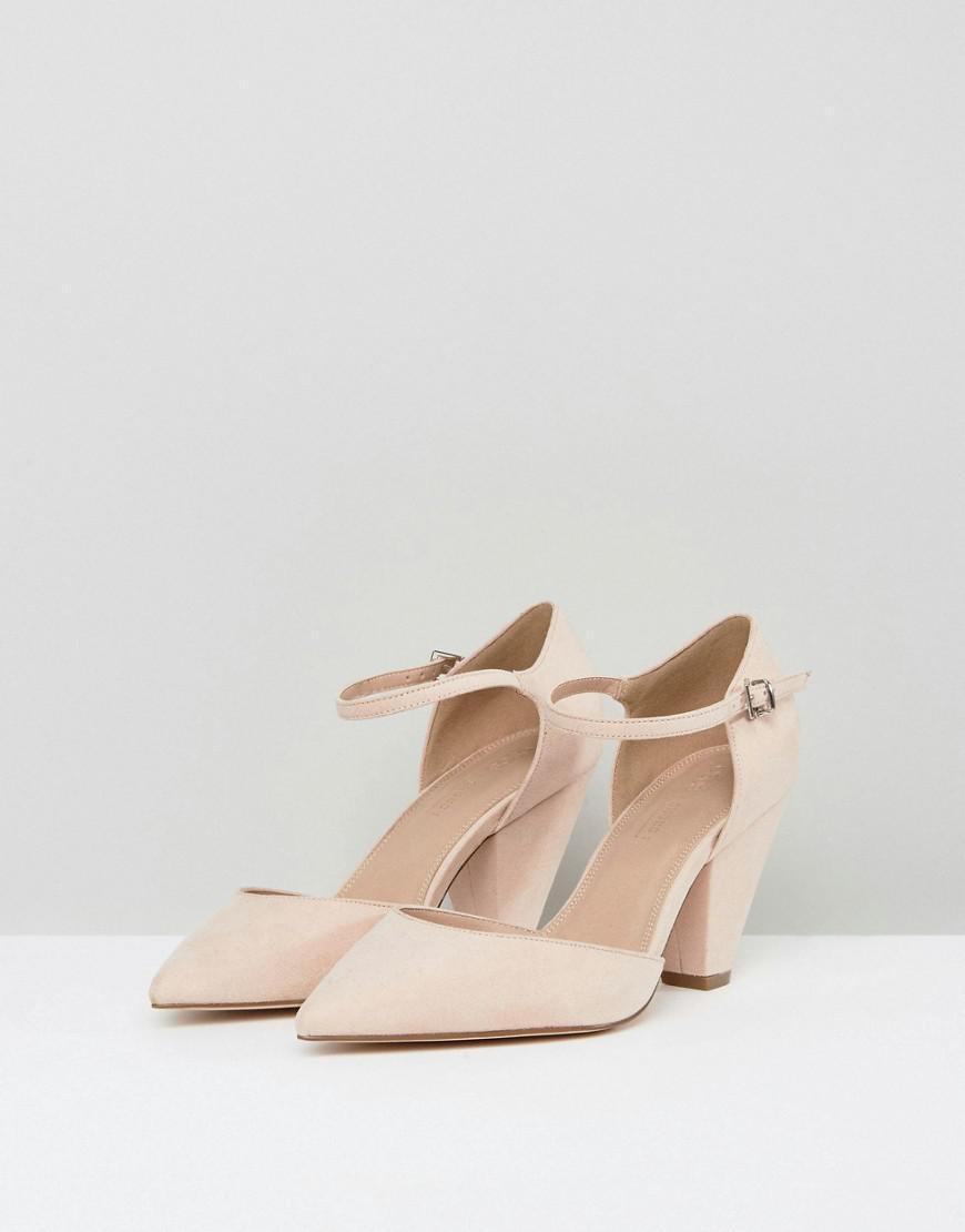 ASOS DESIGN Wide Fit Wireless high heels