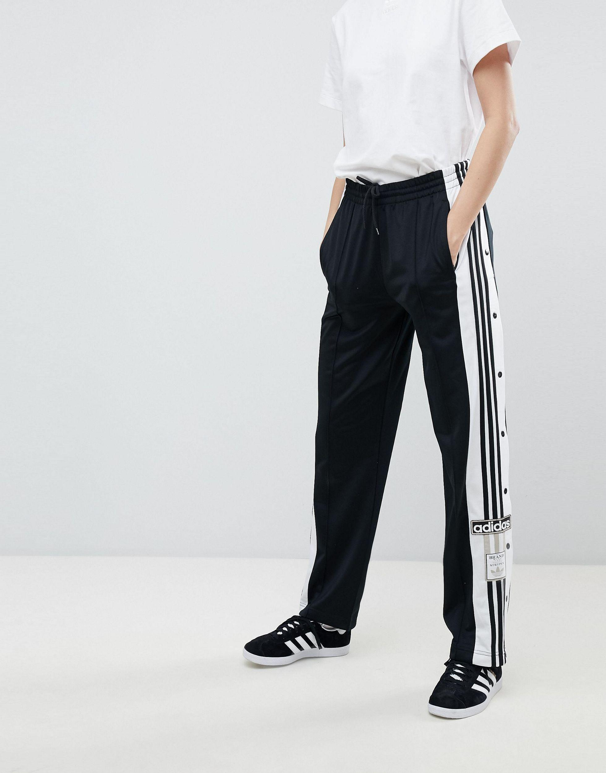Originals Adicolor Popper Pants In Black