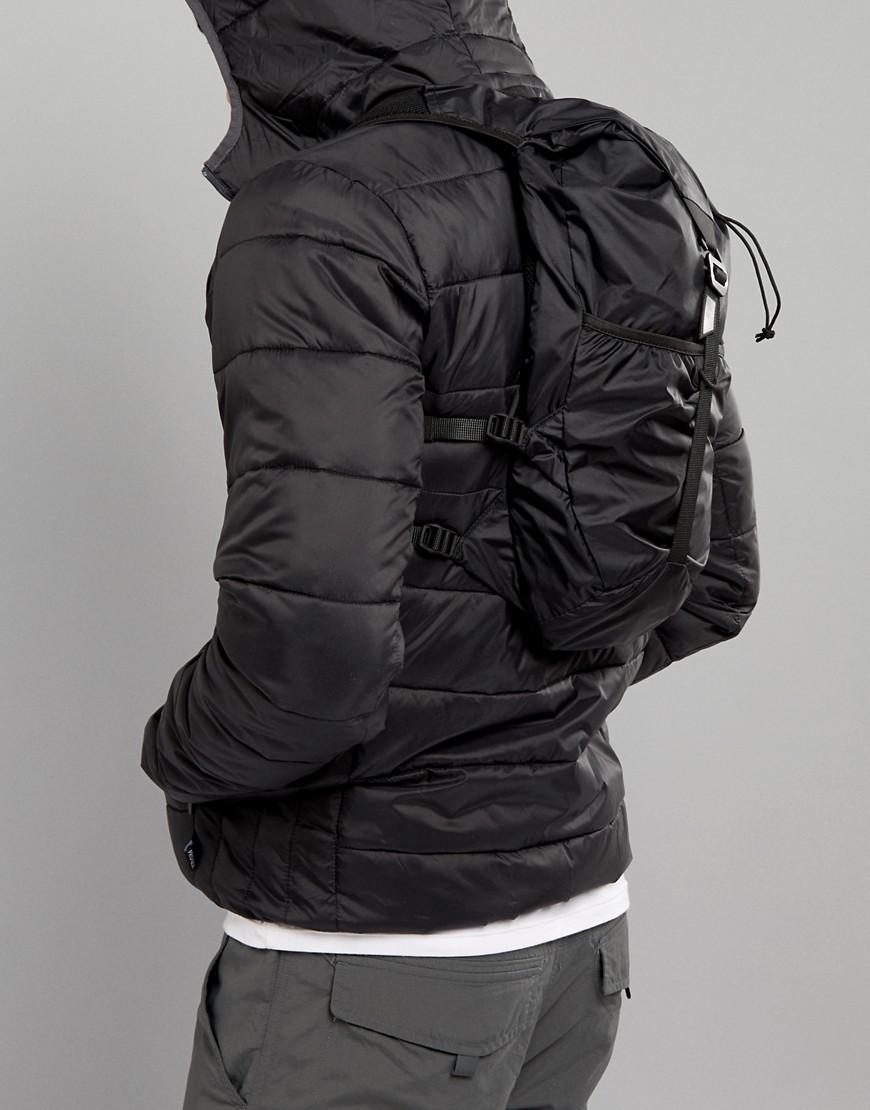 Peak Performance Light Running Backpack In Black for Men