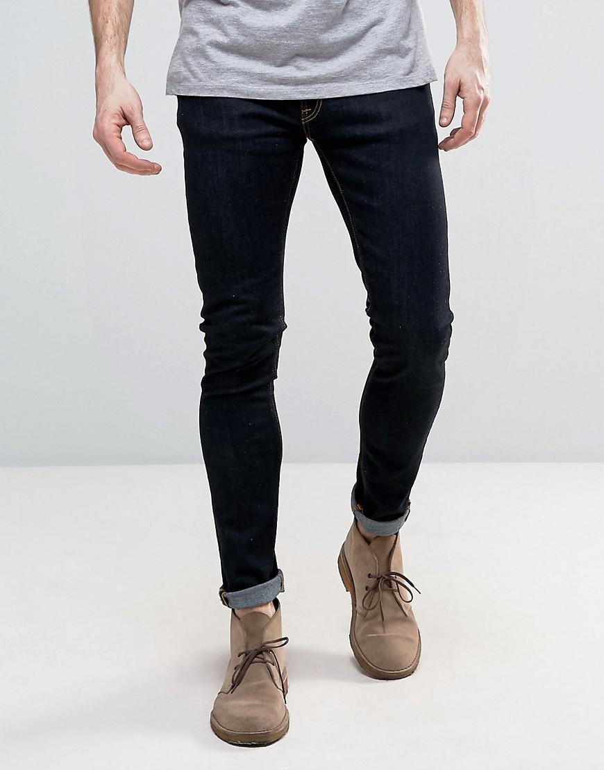405c3ad9 Nudie Jeans Nudie Skinny Lin Super Skinny Jeans Dry Deep Orange in Blue for  Men - Save 25% - Lyst