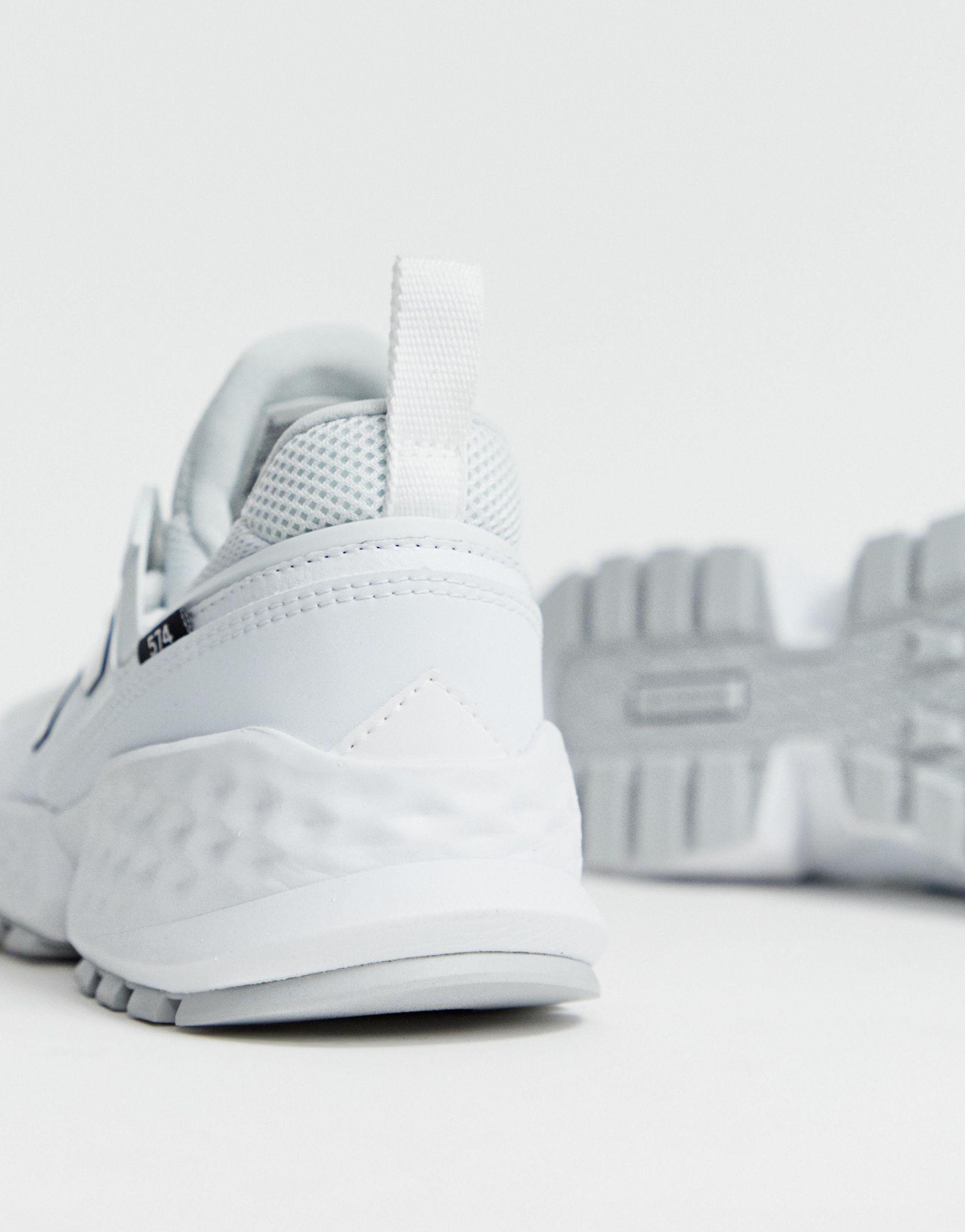 574 Sport V2 Triple Sneakers in White
