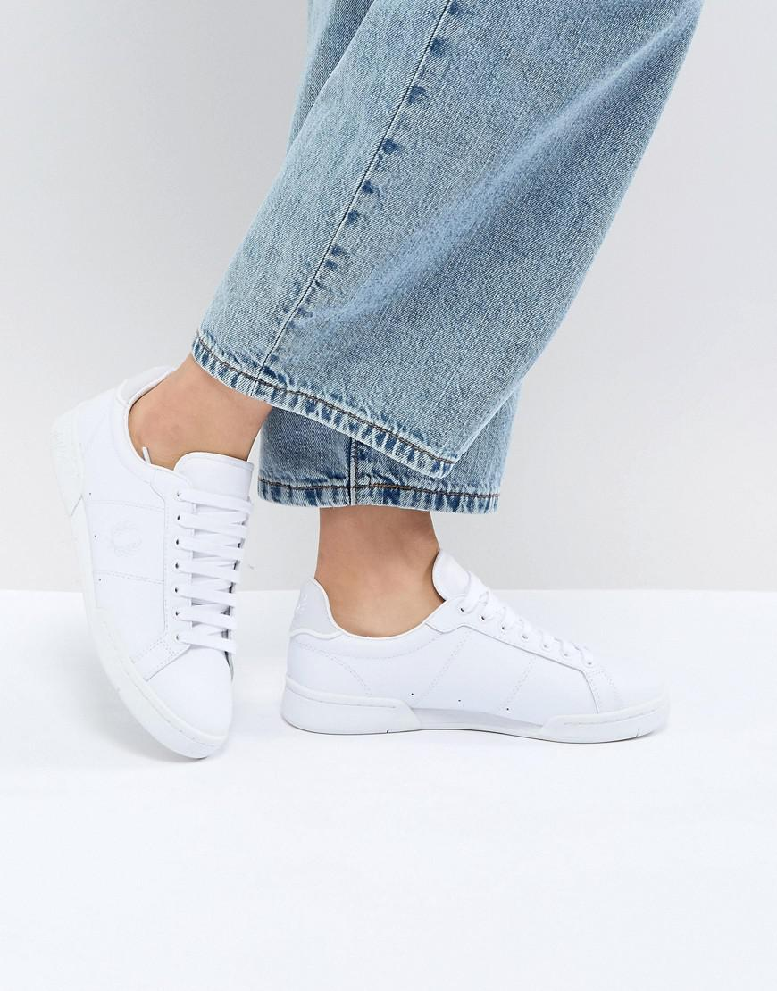 69013a5f8060 Fred Perry Classic Tennis Trainer in White - Lyst