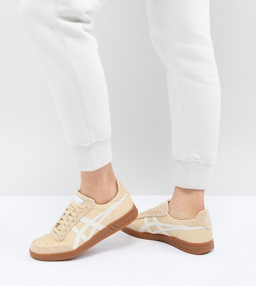 Viccka Court Trainers In Off White With Gum Sole - White Asics Discount Lowest Price Reliable Discount Supply Buy Cheap Affordable For Nice Online XIczU