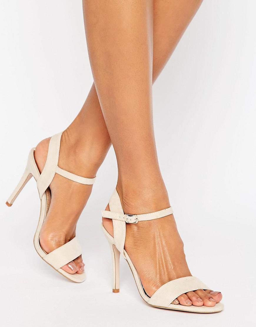 Lyst - Miss Kg Sian Strappy Block Heeled Sandals