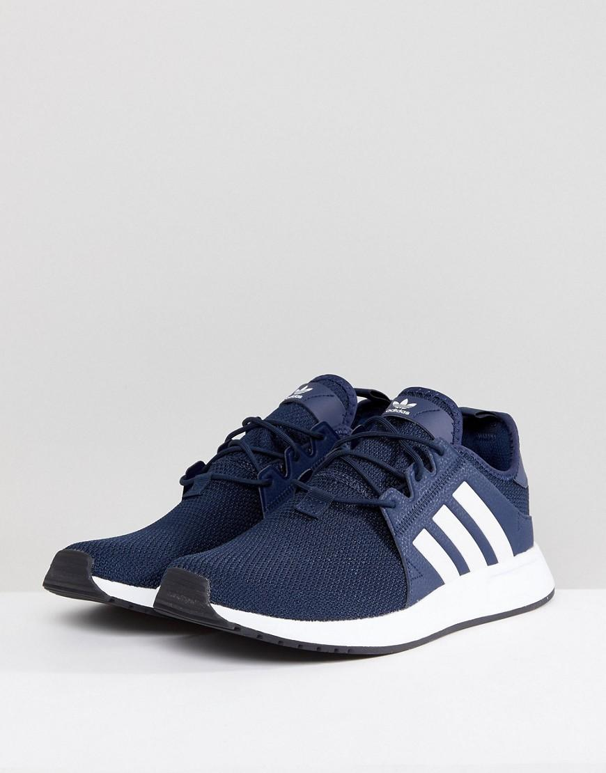 adidas Originals Rubber Sneakers In Marineblauw, Cq2407 in het Blauw voor heren