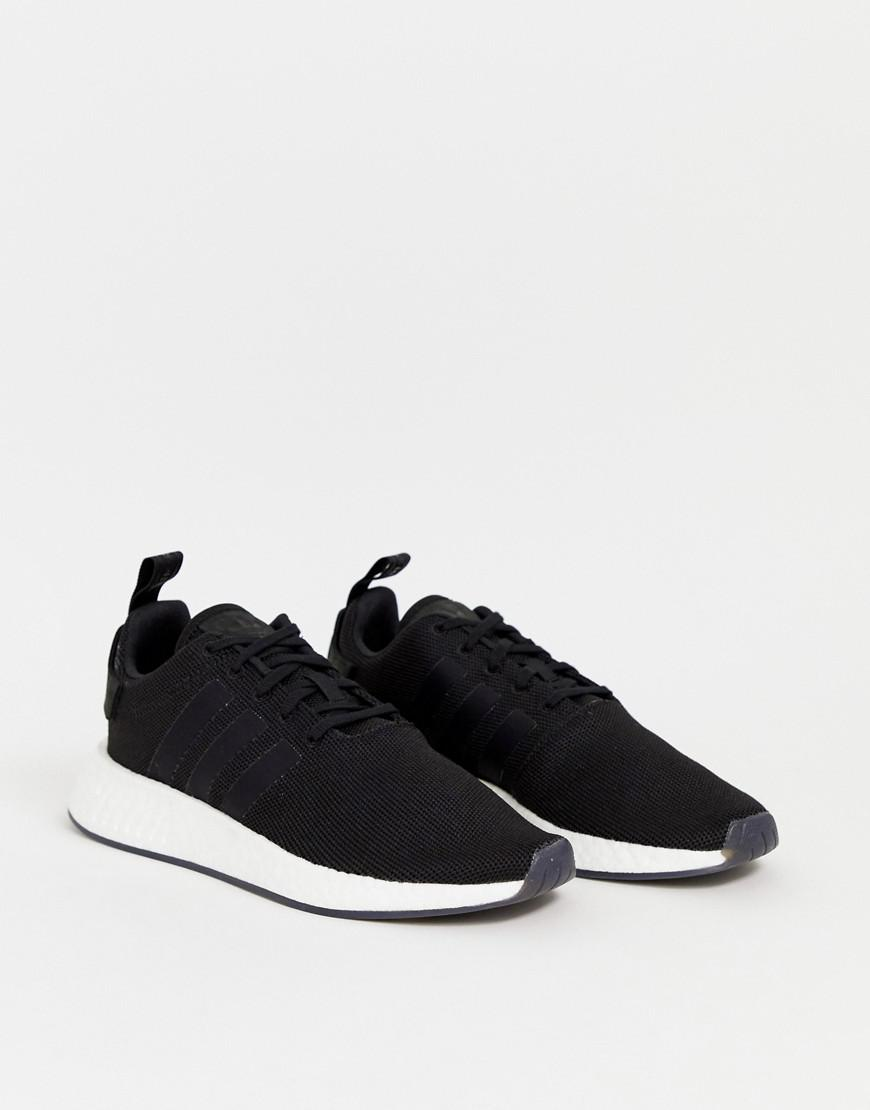 new products c50bb 8f52a Lyst - adidas Originals Nmd R2 Boost Sneakers In Black Cq2402 in Black for  Men
