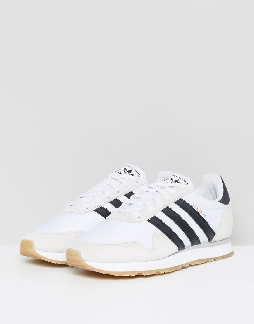 adidas Originals Haven Sneakers In White BY9713   Saipan