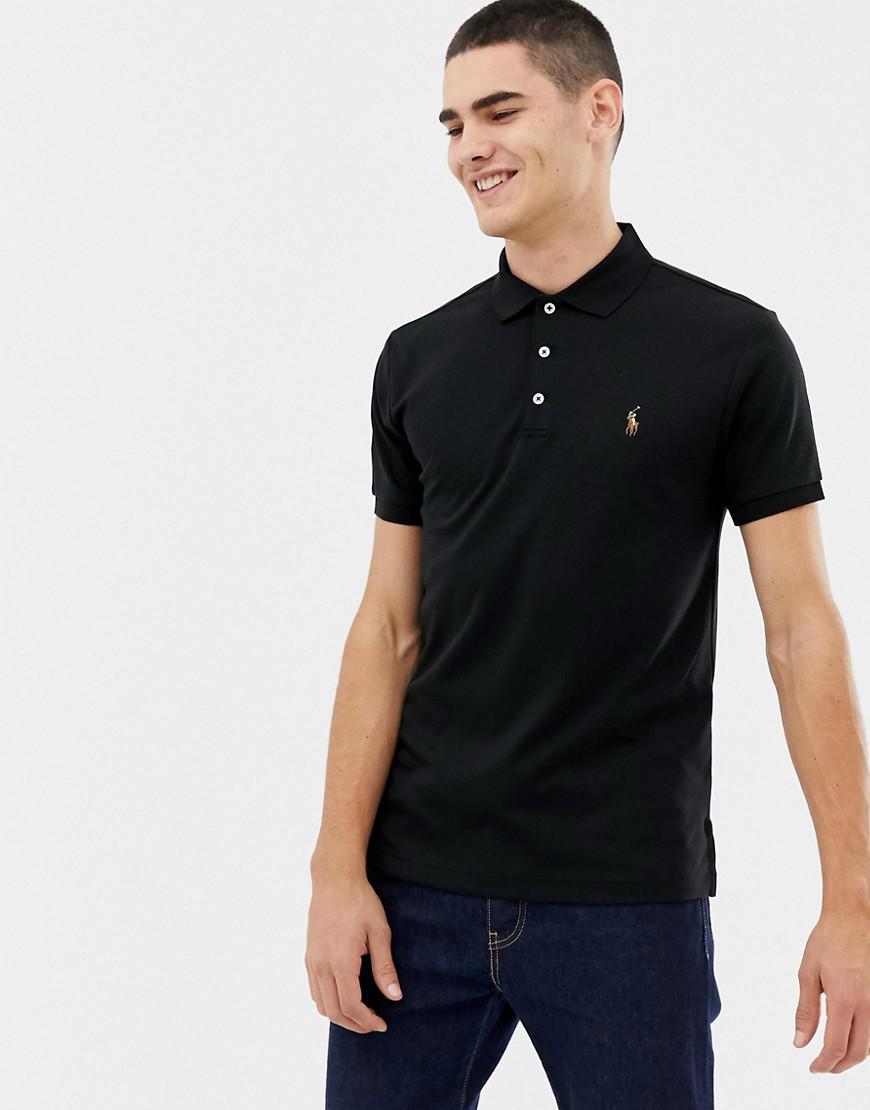 In Men's Multi Black Soft Player Pima Slim Polo Touch Fit thQrxsCd