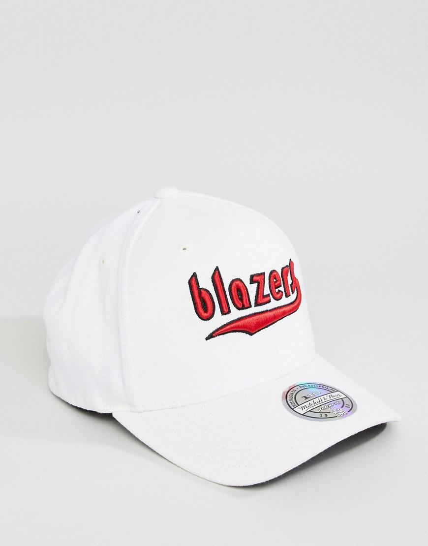 Mitchell   Ness Courtside 2 110 Baseball Cap Blazers in Natural for Men -  Lyst d6571d5a9917
