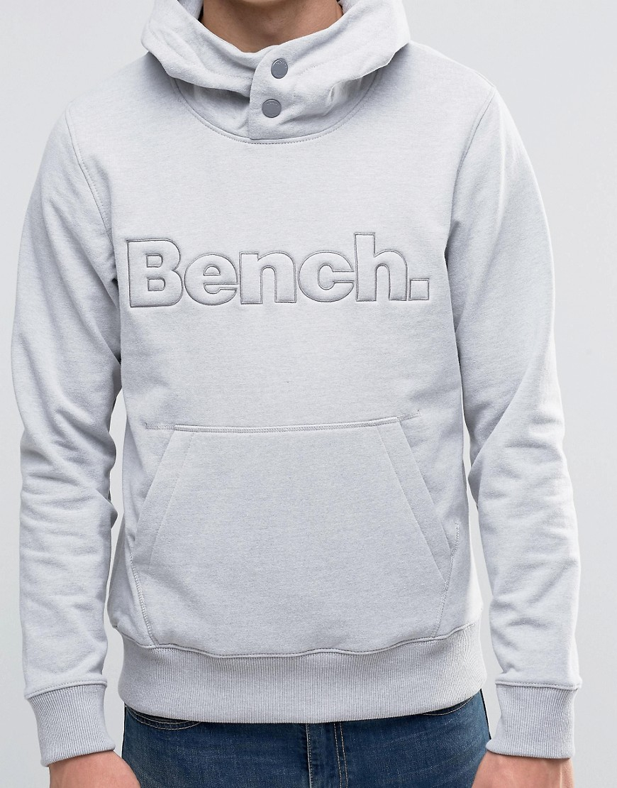 Lyst Bench Overhead Hoodie In Gray For Men