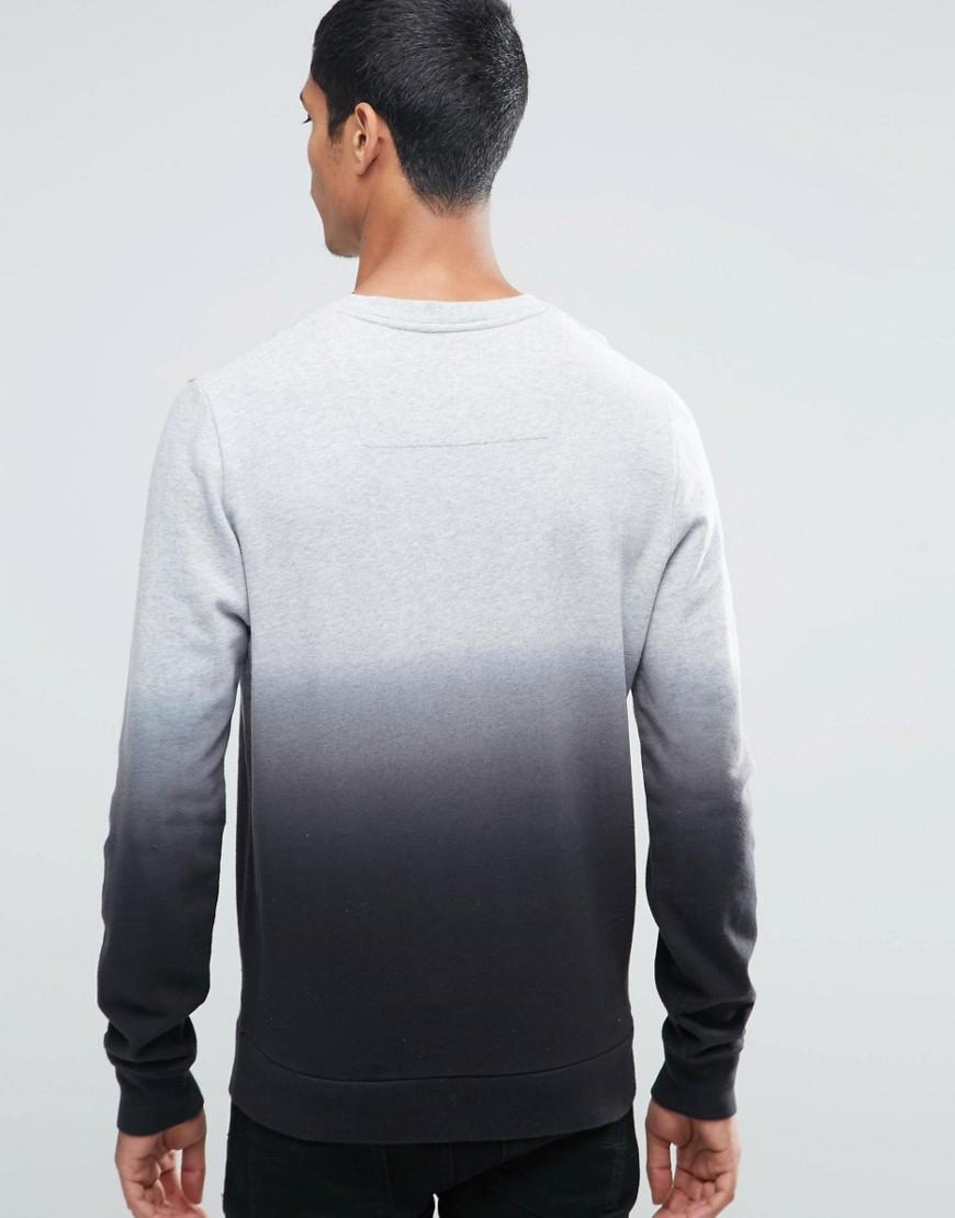 Threadbare Cotton New York Fade Sweater in Grey (Grey) for Men