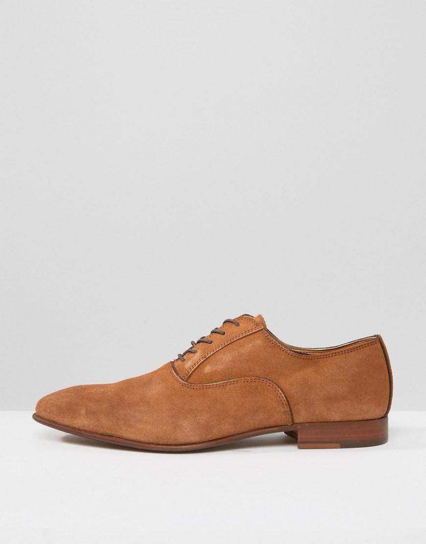 Aldo Gwidol Suede Oxford Shoes In Brown For Men Lyst