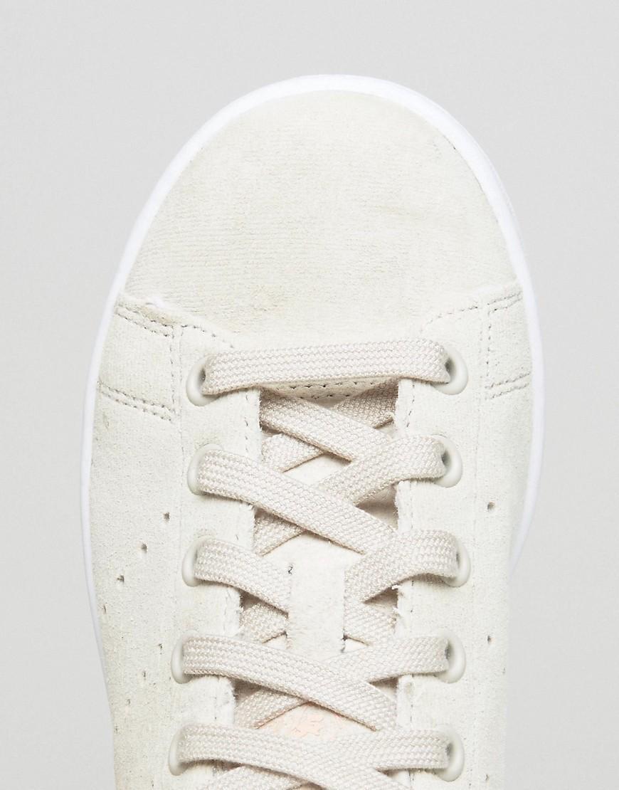 adidas originals stan unisex Blanc and Rose stan originals smith Baskets a6e3e0