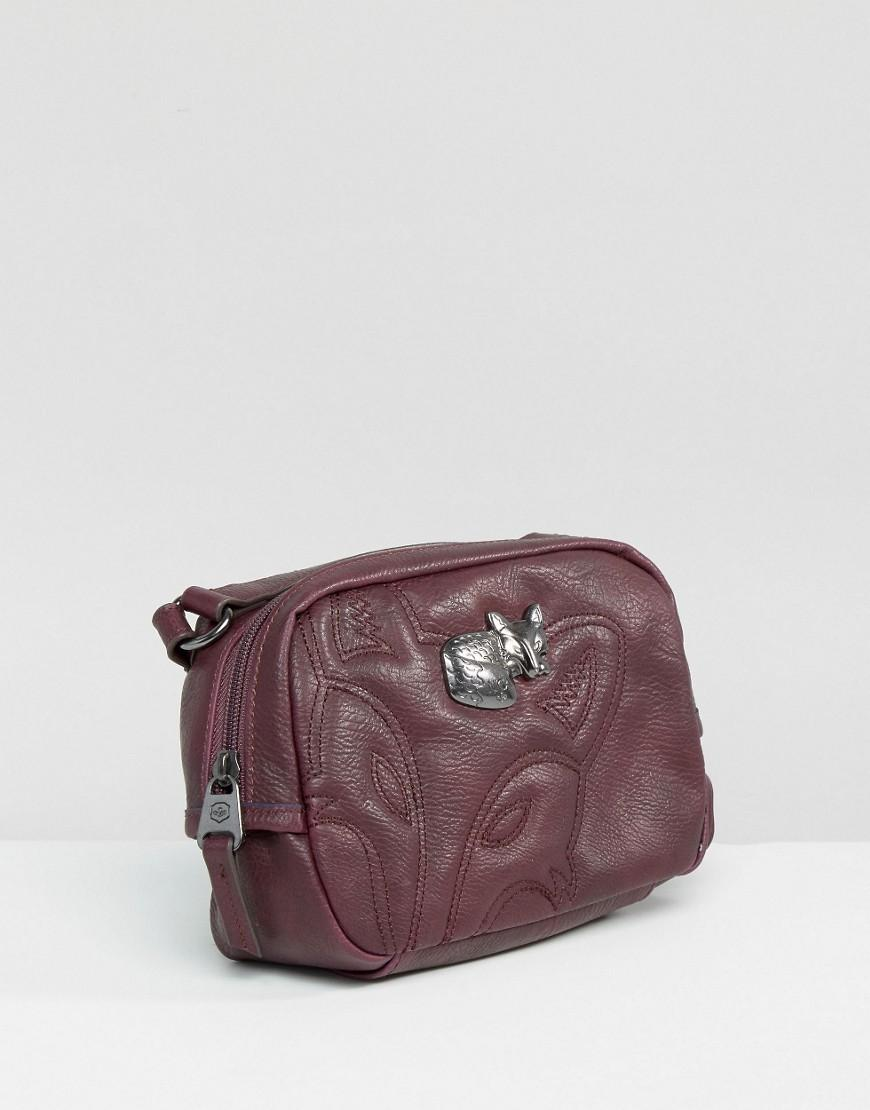 Nica Cross Body Bag - Wine in Red