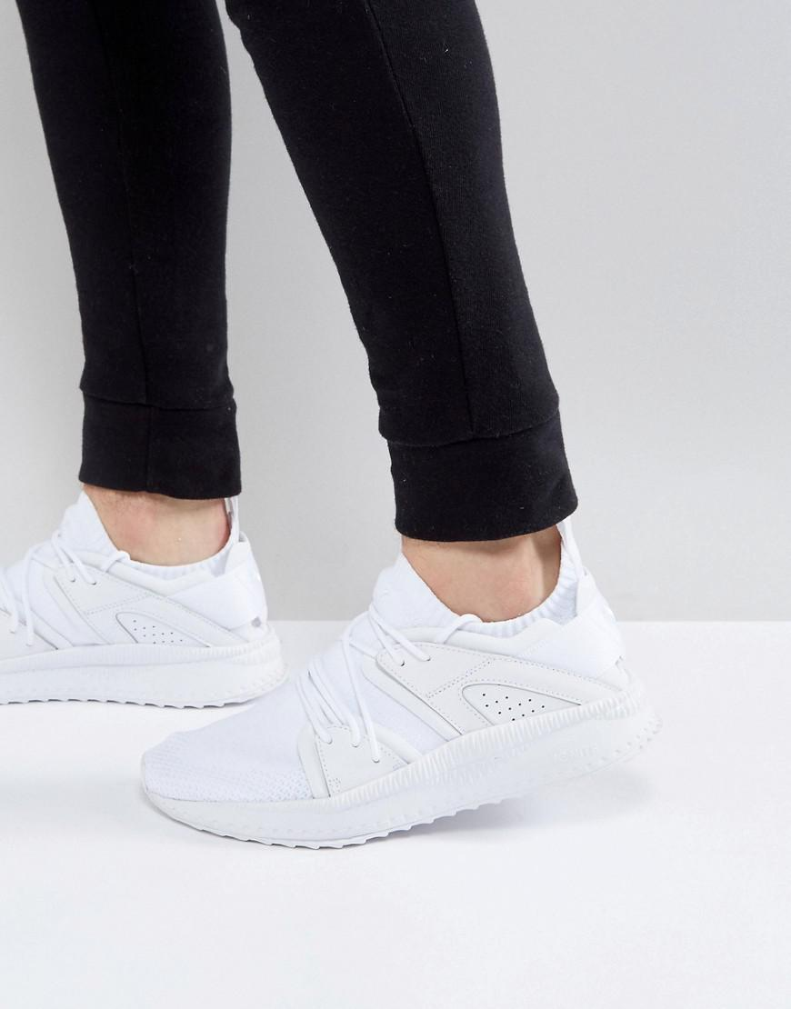 shop for newest offer discounts bottom price Tsugi Blaze Evoknit Trainers In White 36440804